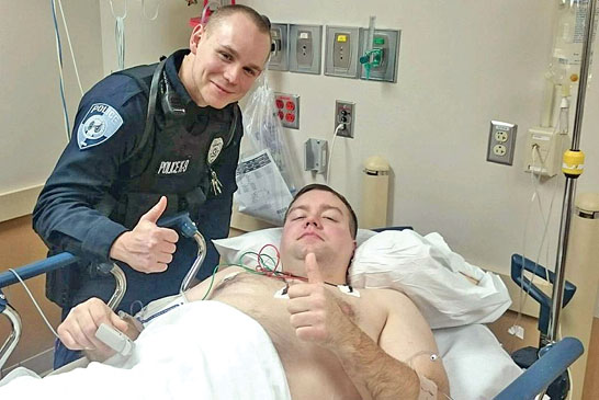 Kenton PD officer recovering after being shot by former county official