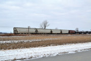 No one injured in train derailment