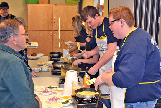 Cooking up omelets featured