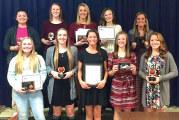 Upper girls basketball awards