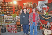 McCutchenville business owner expands antique and furniture shop beyond wall of crowded garage, welcomes new customers