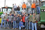USHS participates in Tractor Day