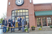First National Bank of Sycamore celebrates expansion project with grand reopening