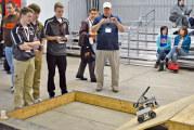 Upper students compete in National Robotics Challenge