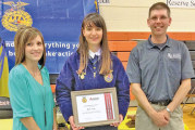 Vent wins Schmidt ag scholarship