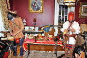 Area residents portray Eastern Woodland Indians at county museum