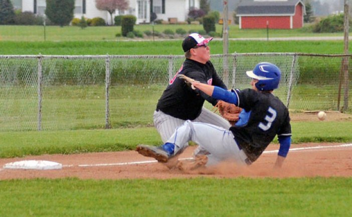 Royals win slugfest to lock up share of N10 baseball title