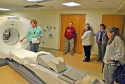 HOPE group tours imaging at WMH