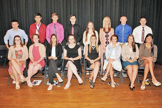Carey senior awards