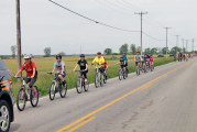 St. Peter students, graduates take part in annual spring bicycle ride
