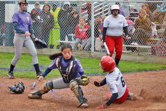 Safe at the plate
