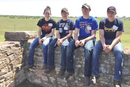 Upper Sandusky FFA competes in national land judging contest