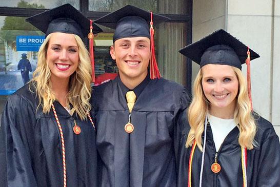Graduating together