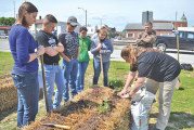 Workday kicks off growing season to provide access to local produce