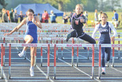 Eagles edge Rams for girls N10 track and field title