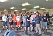 USHS football receives donation