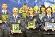 Students, community members awarded at annual Upper Sandusky FFA banquet