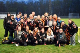 Upper girls win Royer Relays