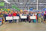 Nonprofits receive grants from Walmart