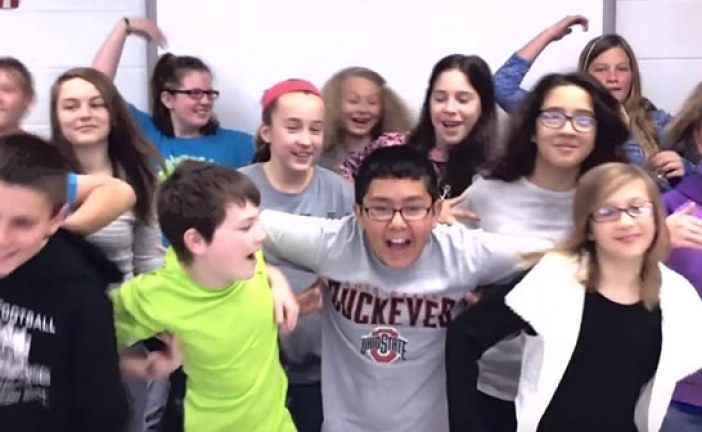 Wynford 6th graders' video recognized by performers