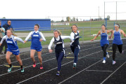 Falcons girls 1st, boys 2nd in Riverdale Relays