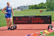 Falcons' Pauley repeats 4th-place discus finish