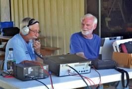 Local amateur radio operators hone skills at annual field day in Wharton