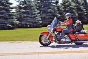 ScootinAmerica makes stop at Thiel's Wheels Harley Davidson