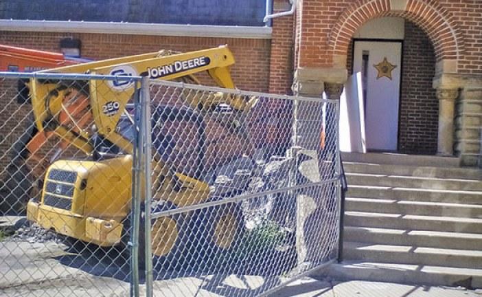 Sheriff's office ramp