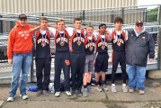 Middle school state runners