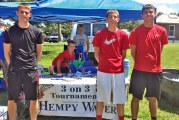 Tree Town Festival boys 15-18 winners