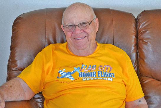 Veteran goes on honor flight