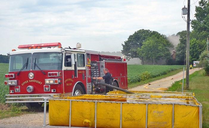 Rural Upper Sandusky home damaged in fire