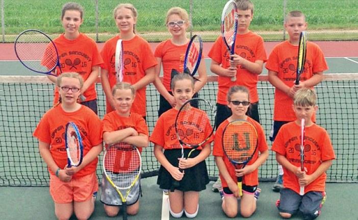 Tennis campers