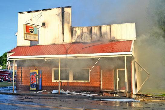 Terry's Market fire