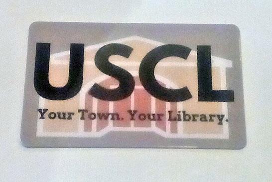 New Upper Sandusky library cards