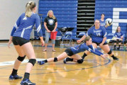 Colonel Crawford rallies to beat Riverdale in 5 sets