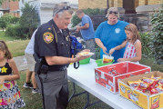 Church takes part in National Night Out for community-police relations