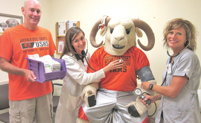 Sports physicals raise funds