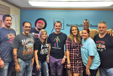Individuals in recovery give back