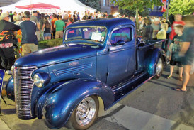 Downtown Upper Sandusky packed for 16th Autumn Cruise