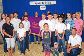 Grand champions announced at the Wyandot County Fair livestock sale