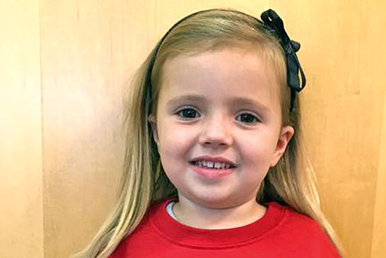 Kiel Rothlisberger, 4, a daughter of Aric and Calli Rothlisberger, has completed the 1,000 Books Before Kindergarten program at the Mohawk Community Library. Kiel started the program May 8, 2014 and was read 1,000 books by Saturday.
