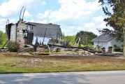 Sycamore home destroyed