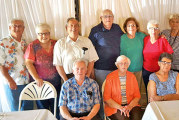 USHS class of 1954 gathers for final monthly meeting of year