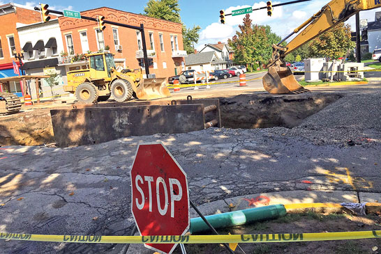 Wyandot Avenue hole