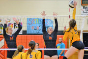 Eagles hold off on Rams in 5 sets