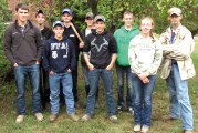 FFA students place 8th in forestry