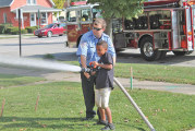 Upper Fire recognizes prevention week with open house