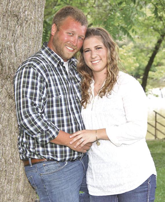 Josh Kirian and Erika Coldiron